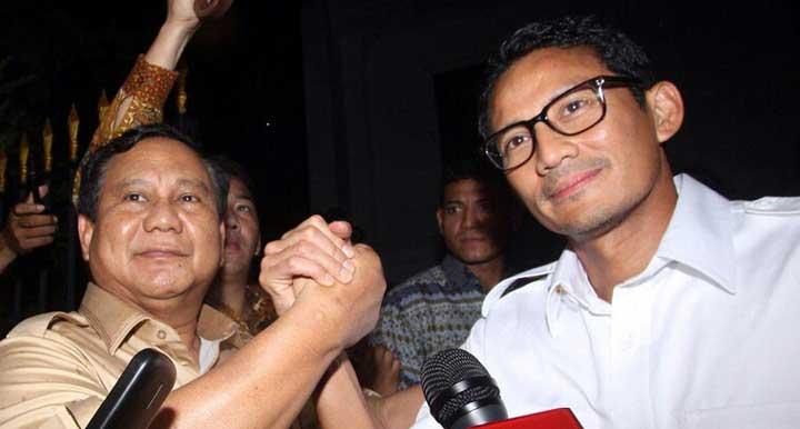 PAN dan PKS Berikan 88 Kursi Untuk Pasangan Gerindra-Gerindra Prabowo-Sandi
