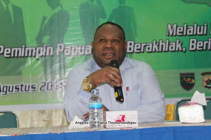 Pelantikan Gubernur dan Wakil Gubernur Terpilih Papua 17 September