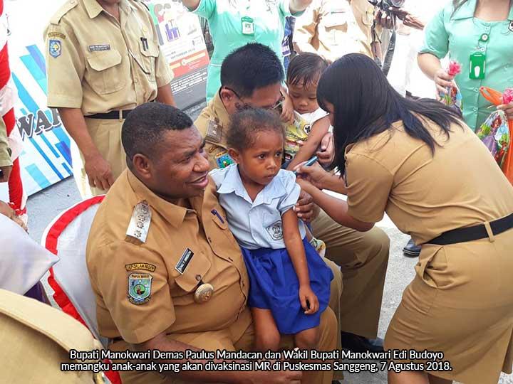 Bupati Manokwari: Imunisasi Adalah Hak Setiap Anak