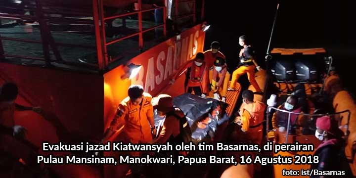 Jasad Wisatawan Batam Ditemukan Usai Tabur Bunga
