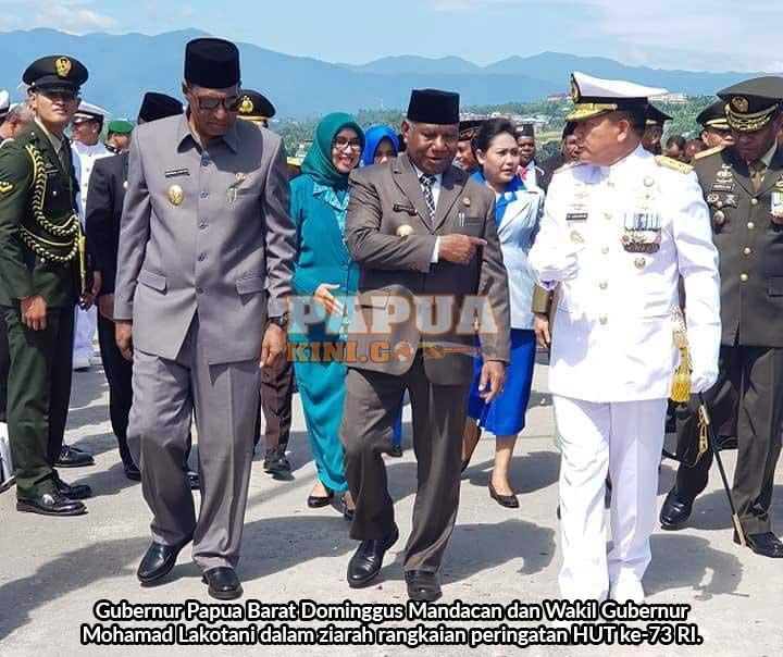 Gubernur: Jaga Papua Barat Tetap Kondusif