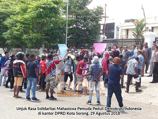 DPRD Kota Sorong Diminta Beri Jaminan Hukum Mahasiswa Papua di Luar Papua