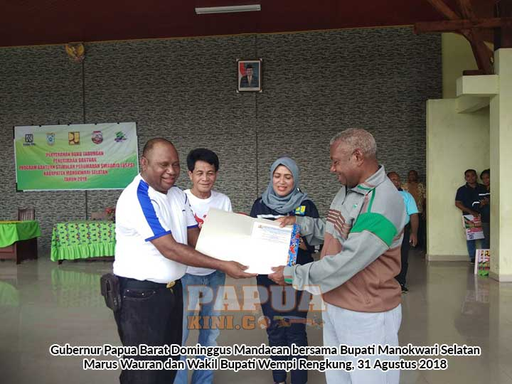 4750 Warga Papua Barat Dapat Tabungan BSPS 85,25 M