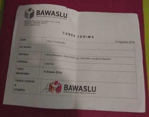 Mantan Ketua Panwaslu Pegaf Laporkan Oknum Komisioner Bawaslu ke Polisi, Bawaslu dan DKPP