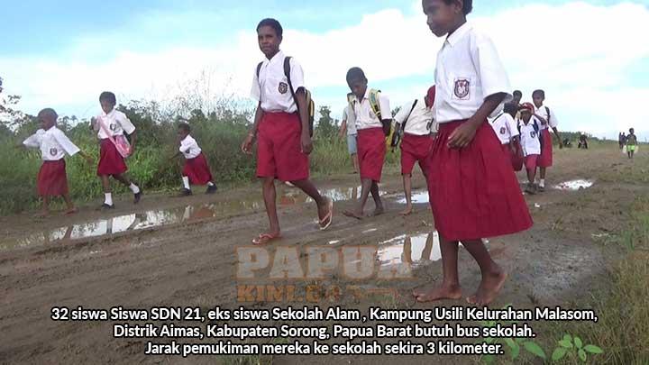 Ini Salah Satu Kondisi Miris Pendidikan di Kabupaten Sorong Papua Barat
