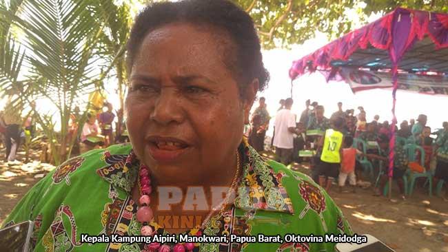 Aipiri Jadi Kampung P2WKSS, Kepala Kampung Minta Program Fisik