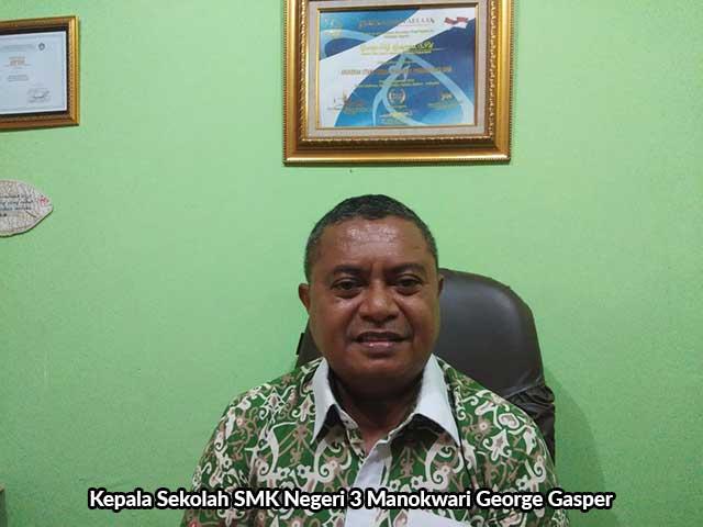 Siswa SMKN 3 Manokwari PKL di Biak
