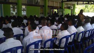 Mahasiswa baru Polbangtan Manokwari