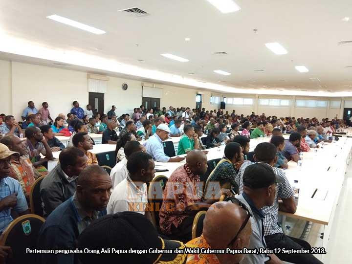 Gubernur Papua Barat Wajibkan Semua Pengusaha OAP Ikut Pelatihan