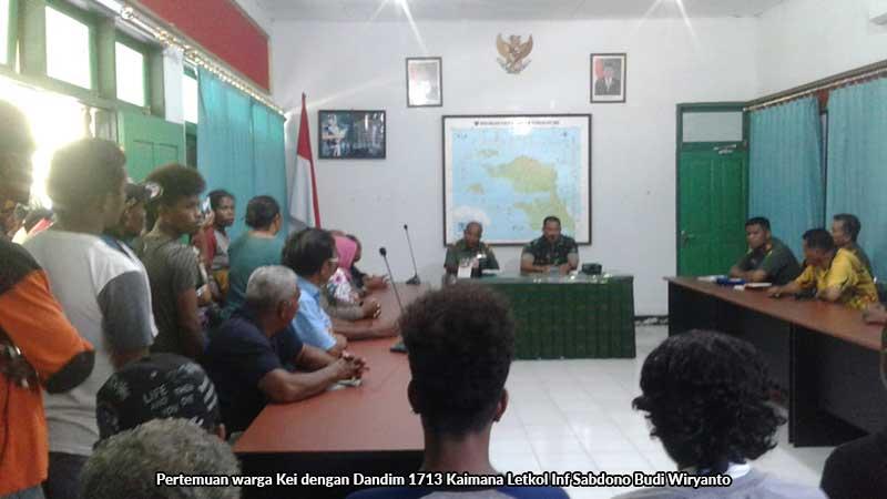 Oknum TNI Penganiaya Warga Kaimana Sudah di Den POM