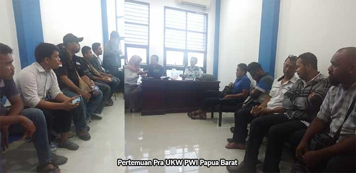 Persatuan Wartawan Indonesia Papua Barat Gelar Uji Kompetensi Wartawan