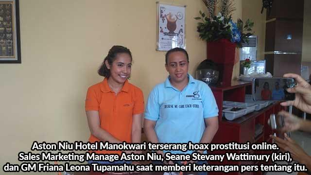 Aston Niu Terserang Hoax Prostitusi Online