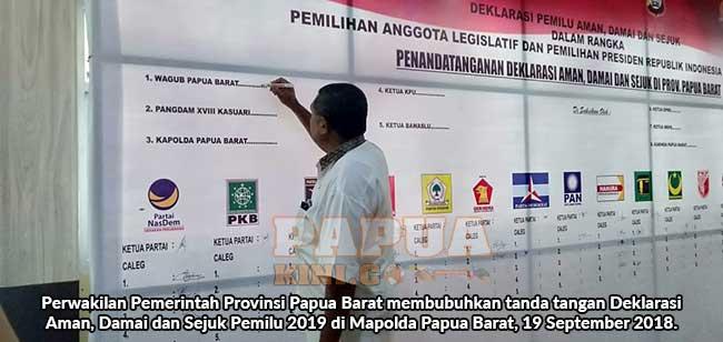 Deklarasi Pemilu Aman, Damai, Sejuk, Kapolda dan Pangdam Harap Pemilu Berjalan Baik