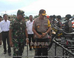 Kapolda Papua Barat dan Pangdam XVIII/Kasuari