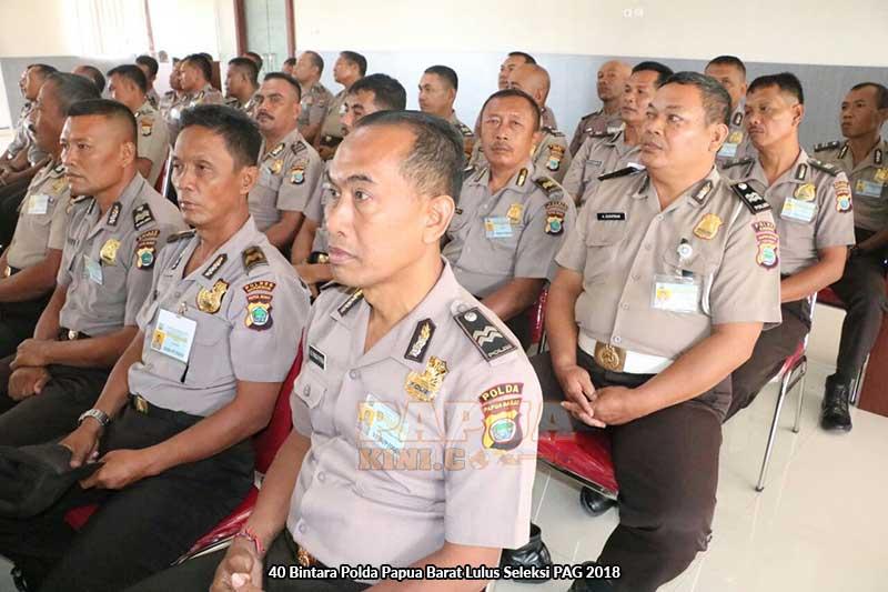 40 Bintara Polda Papua Barat Lulus Seleksi PAG