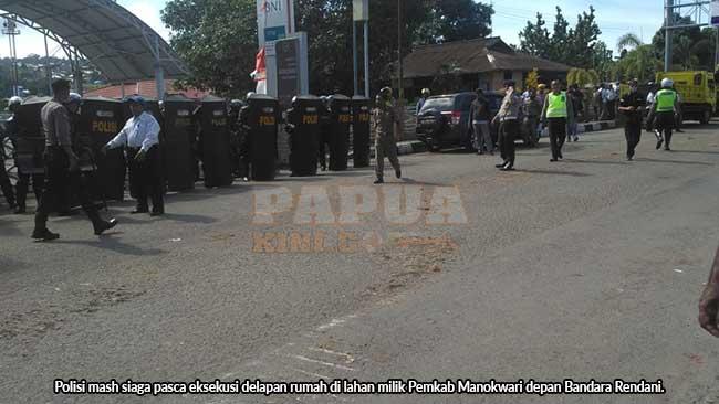 Polisi Tetap Siaga Pasca Eksekusi Rendani