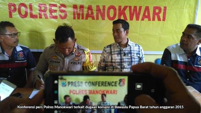 Duit Dugaan Korupsi Bawaslu Papua Barat Juga Mengalir ke Oknum Komisioner