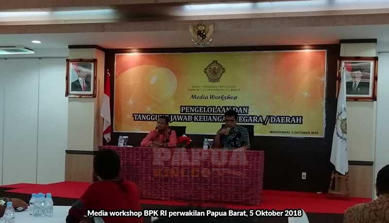 BPK Papua Barat Minta 5 Daerah Lebih Baik