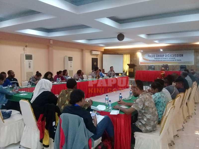 Polda Papua Siap Atasi Pelanggaran HAM