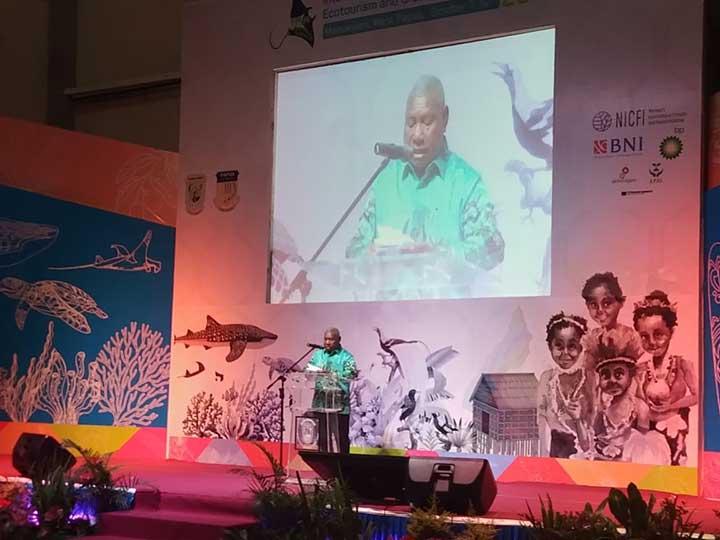 Papua Barat Tegaskan Komitmen Provinsi Konservasi dan Green Economy di ICBE 2018