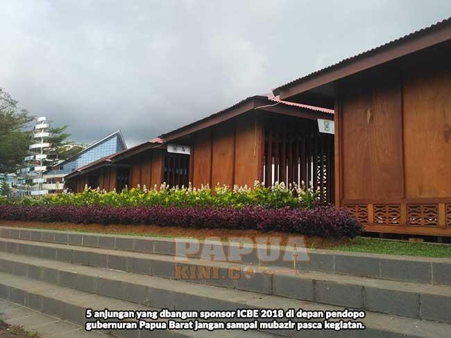Manfaatkan 25 Anjungan ICBE Depan Pendopo Gubernur