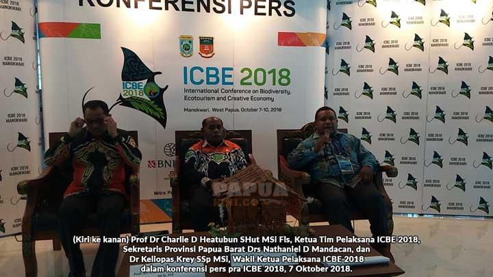 ICBE 2018 Hapus 'Stigma' Papua 'Primitif'