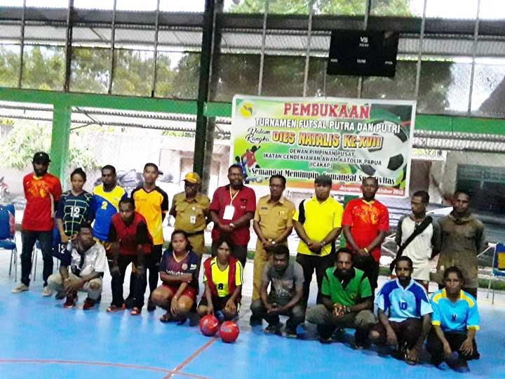 ICAKAP Gelar Turnamen Futsal di Jayapura