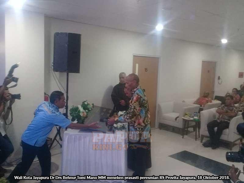 Wali Kota Resmikan Rumah Sakit Provita Jayapura