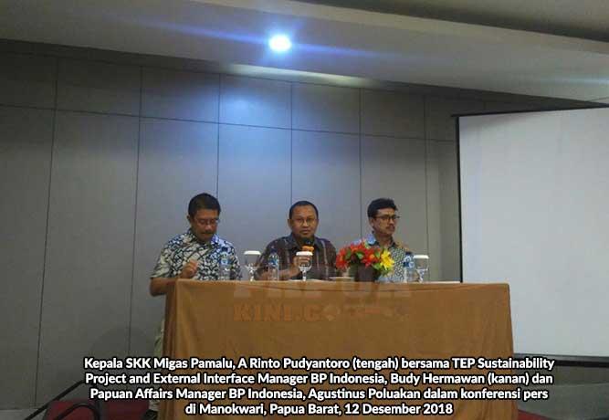 SKK Migas: BP Belum Bisa Penuhi Participating Interest 10% Papua Barat