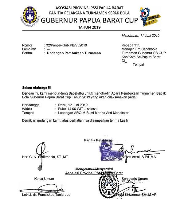 Kaimana United vs Mutiara Hitam Awali Gubernur Papua Barat Cup Besok