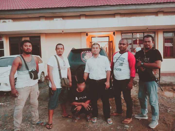 DPO Polda Metro Jaya Dibekuk Polres Teluk Bintuni