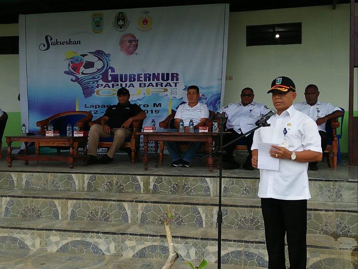 Kompetisi Pencarian Bibit Pesepakbola Putra Putri Papua Barat Dimulai