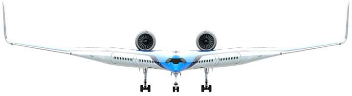 Ini Dia Pesawat Terbang Masa Depan: Flying V