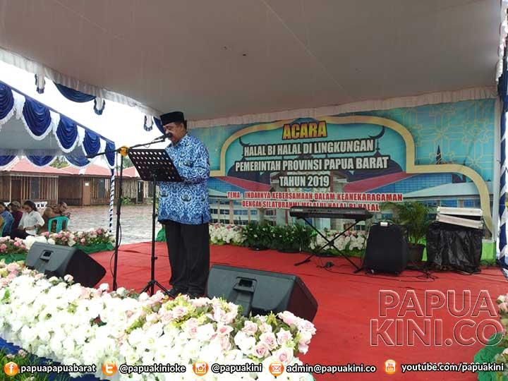 Halal Bi Halal Pemprov Papua Barat