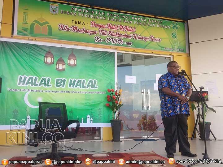 Halal Bi Halal, Kadis PU Papua Barat Ingatkan Semangat Persatuan