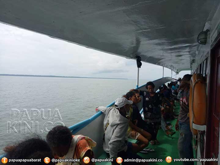 KMP Fajar Indah II Nyaris Kecelakaan di Bintuni