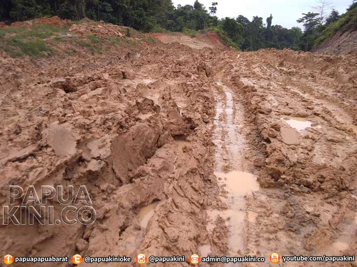 Jalan Rusak di Tahota Baru Diserahkan Swasta Medio 2018