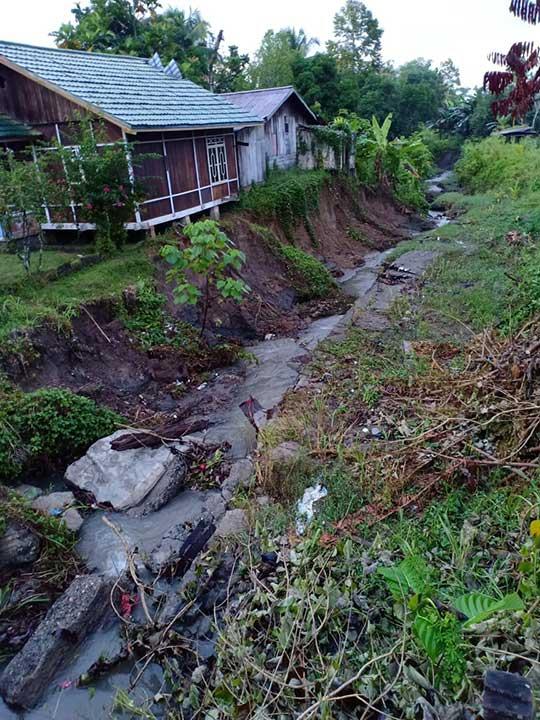 Talud Kali Samping Rumah Ketua MRPB Segera Dibangun
