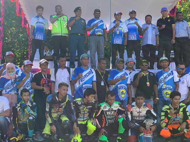 Kejurnas Drag Bike Region 5 dan 6 Putaran 3 Papua Barat 2019 Bergulir