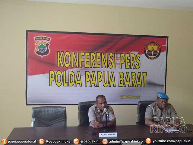Kapolda Papua Barat Mutasi Plt Kabid Propam