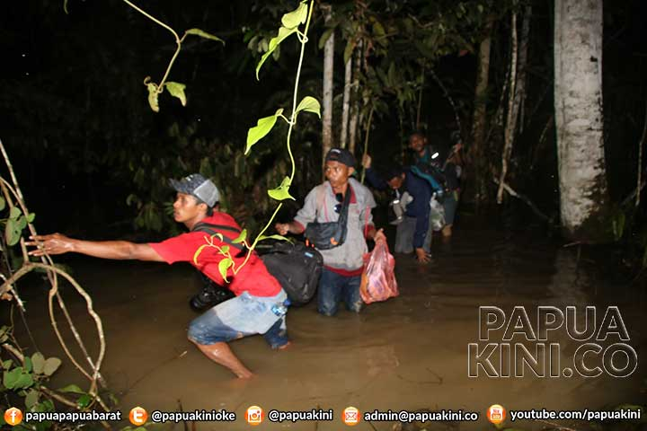 Polsek Windesi, Trans Papua Barat, Manokwari, Manokwari Selatan, Teluk Bintuni, Kodam XVIII Kasuari