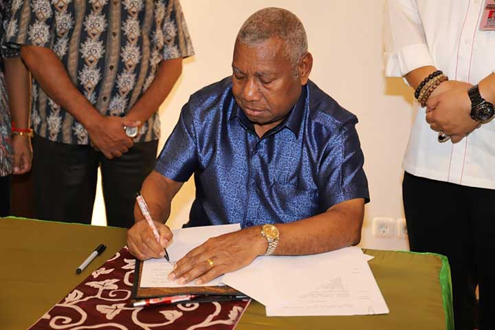 Pemprov Papua Barat Bentuk PPWK