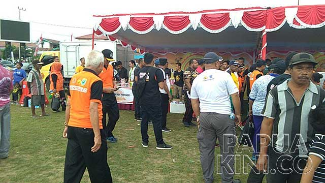 Tersangka Korupsi dan TPPU Dinas Perumahan Ikut Perayaan HUT Bhayangkara di Papua Barat