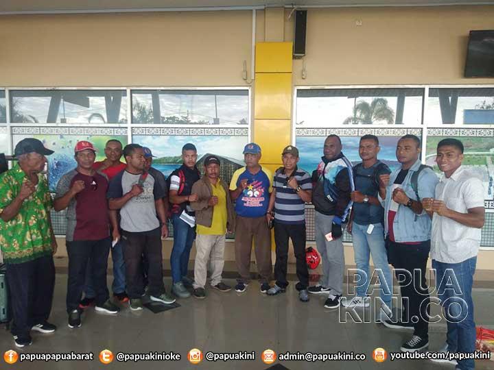 23 Atlit Tinju Papua Barat TC di Kupang