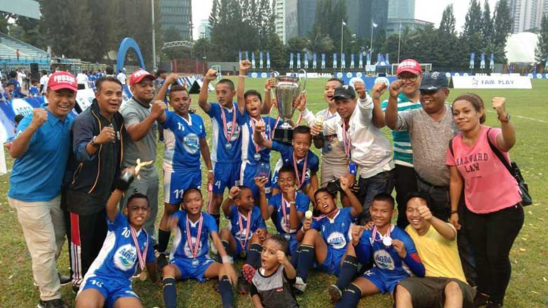 Dua Pesepakbola Cilik Papua Barat Tembus Kejuaraan Dunia Danone di Barcelona