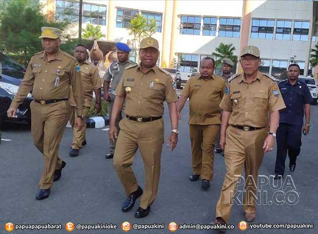 ubernur Papua Bakal Bakal Umumkan OPD Belum Proaktif Perpres Pengadaan Barang/Jasa Otsus
