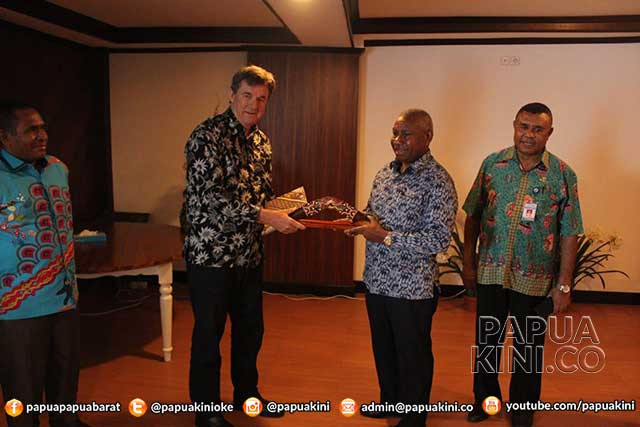 Konjen Australia Temui Gubernur Papua Barat