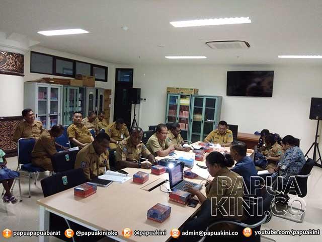 Pemprov Bahas Draft Rapergub Dinas PU dan Perumahan Rakyat