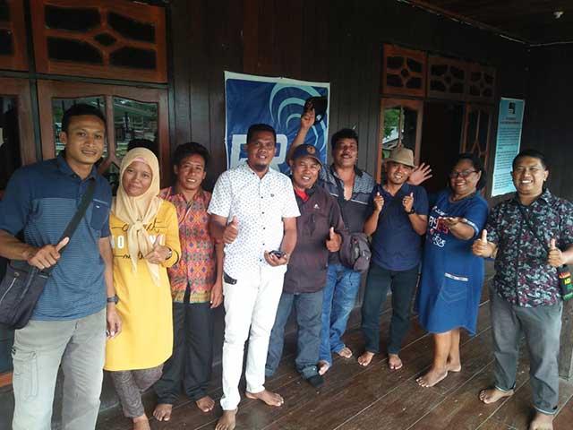 Pererat Silaturahmi, PWI Teluk Bintuni Rutin Arisan dan Pertemuan