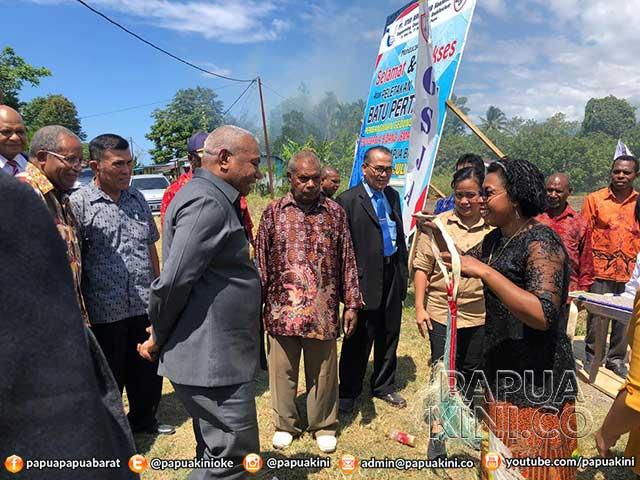 Pembangunan Kantor BPD GSJA Papua Barat Dimulai